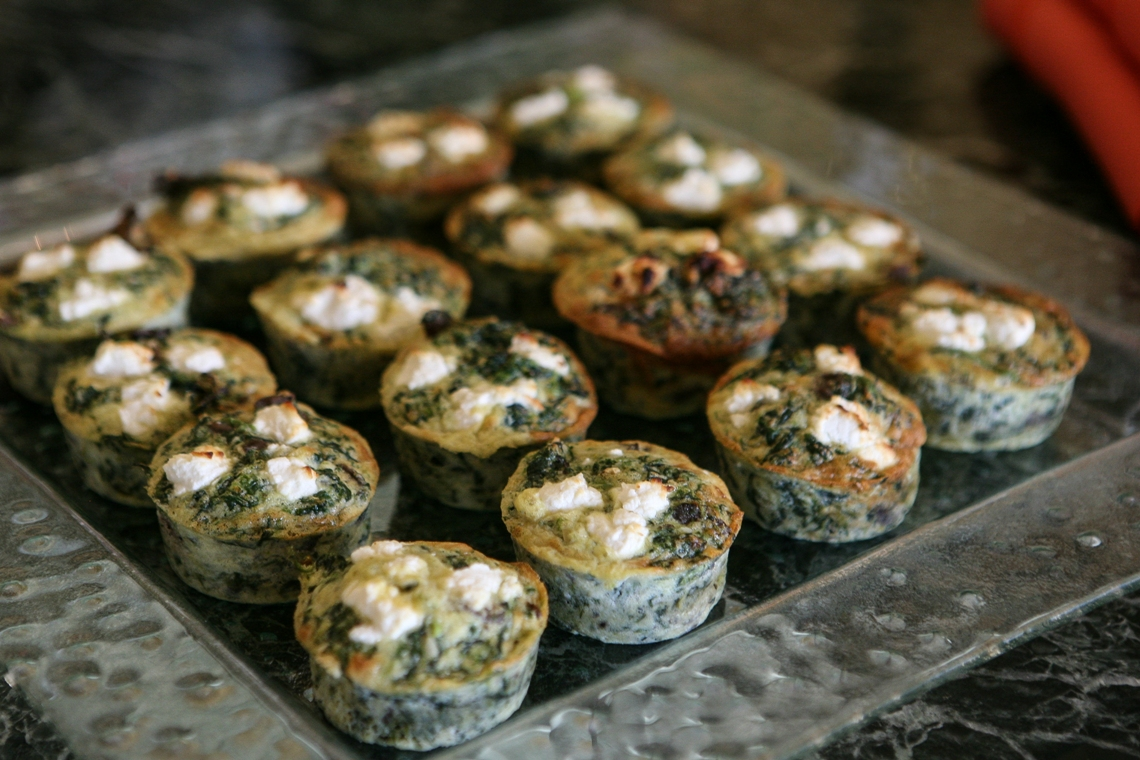 Carousel-Catering-Inc-Mini-Spinach-and-Mushroom-Frittatas
